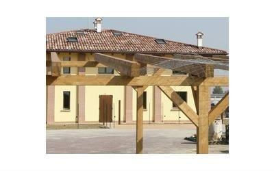 struttura in legno Sazzini