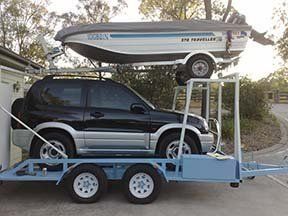 car boat trailer