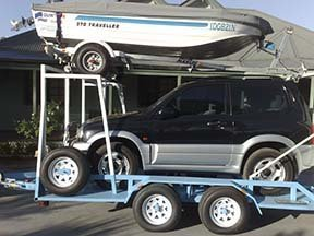 custom car trailer