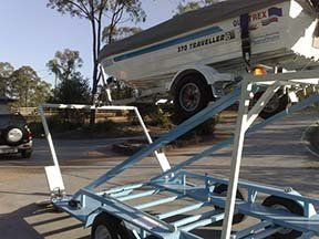 custom car boat trailer