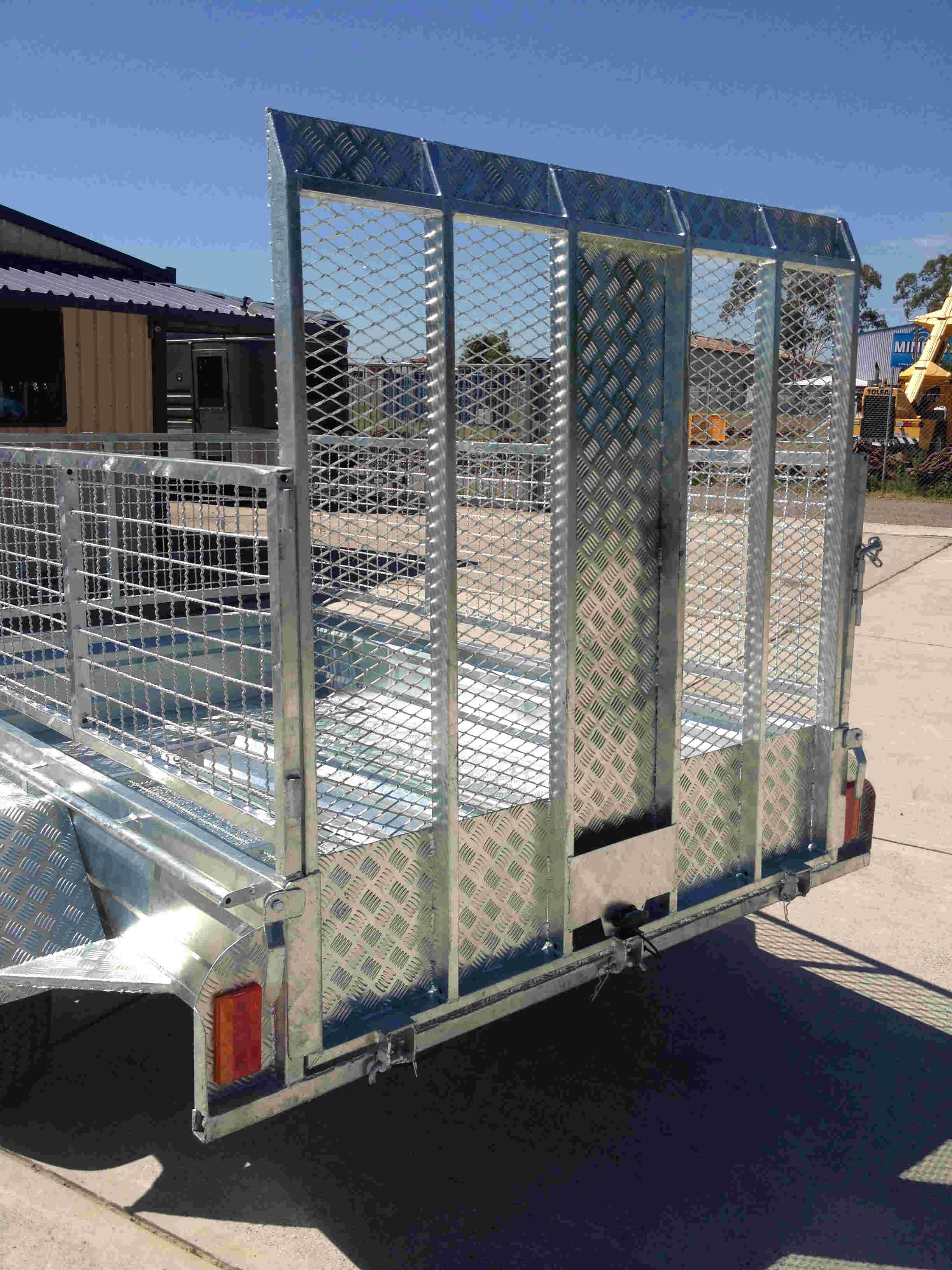 trailer ramp gal, Gridmesh gal ramp