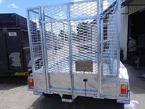 cage trailer ramp