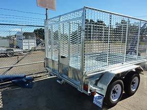 custom cage trailer