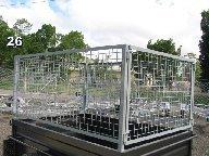 box trailer cage