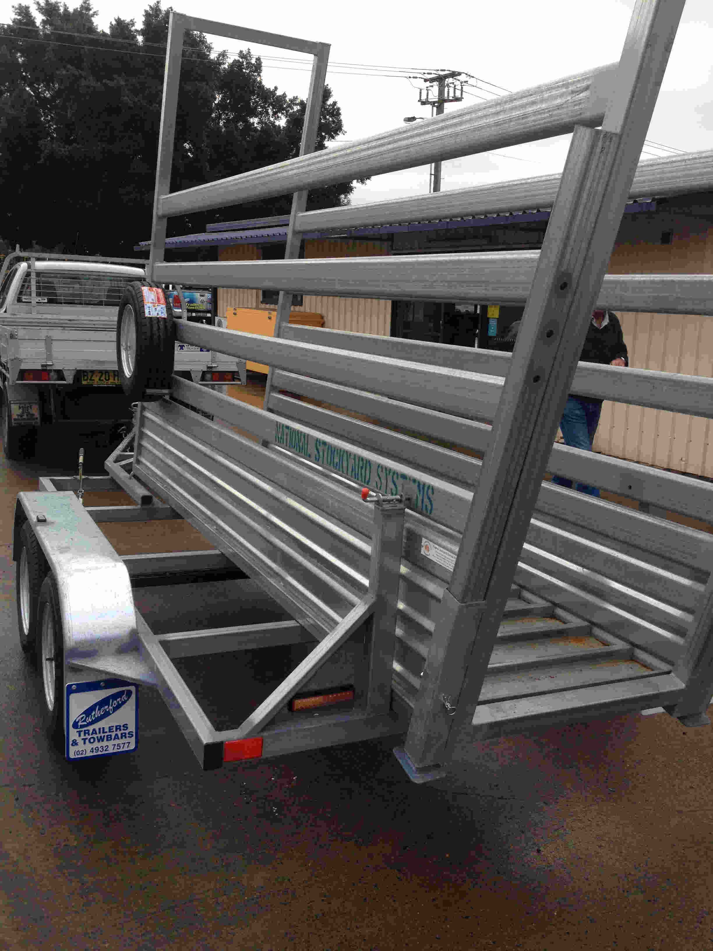 cattle ramp trailer