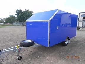 custom motorbike trailer