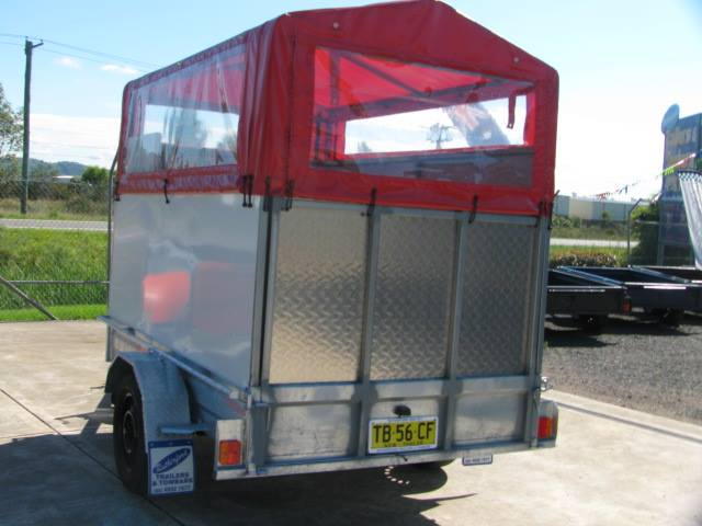 dog wash trailer
