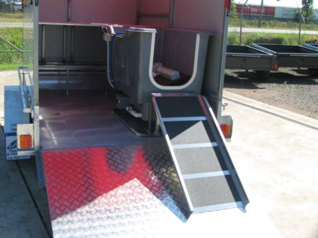 dog wash trailer custom