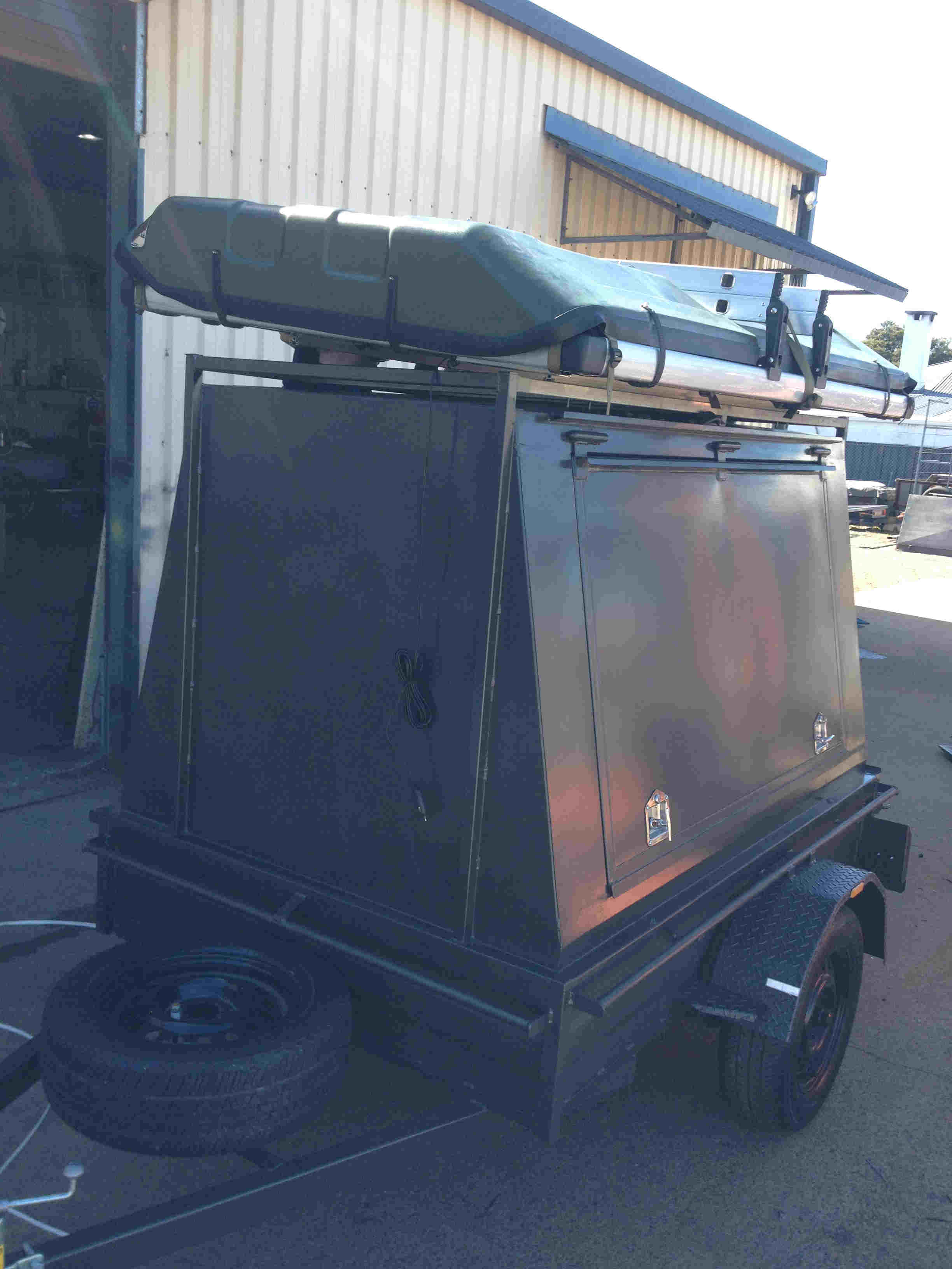 camper top trailer
