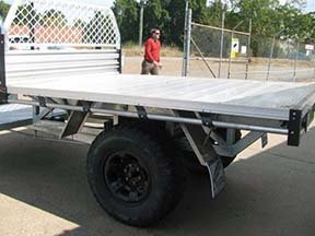 ute tray trailer