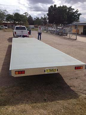 trailer flad bed