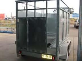 crate trailer