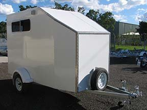 enclosed custom trailer