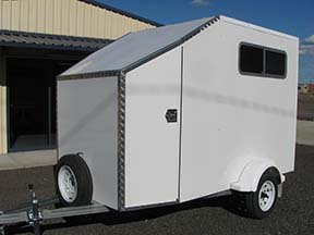 enclosed trailer custom