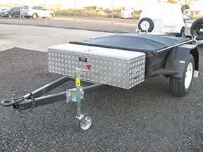 box trailer tool box