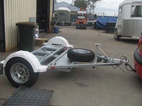 pivot car trailer