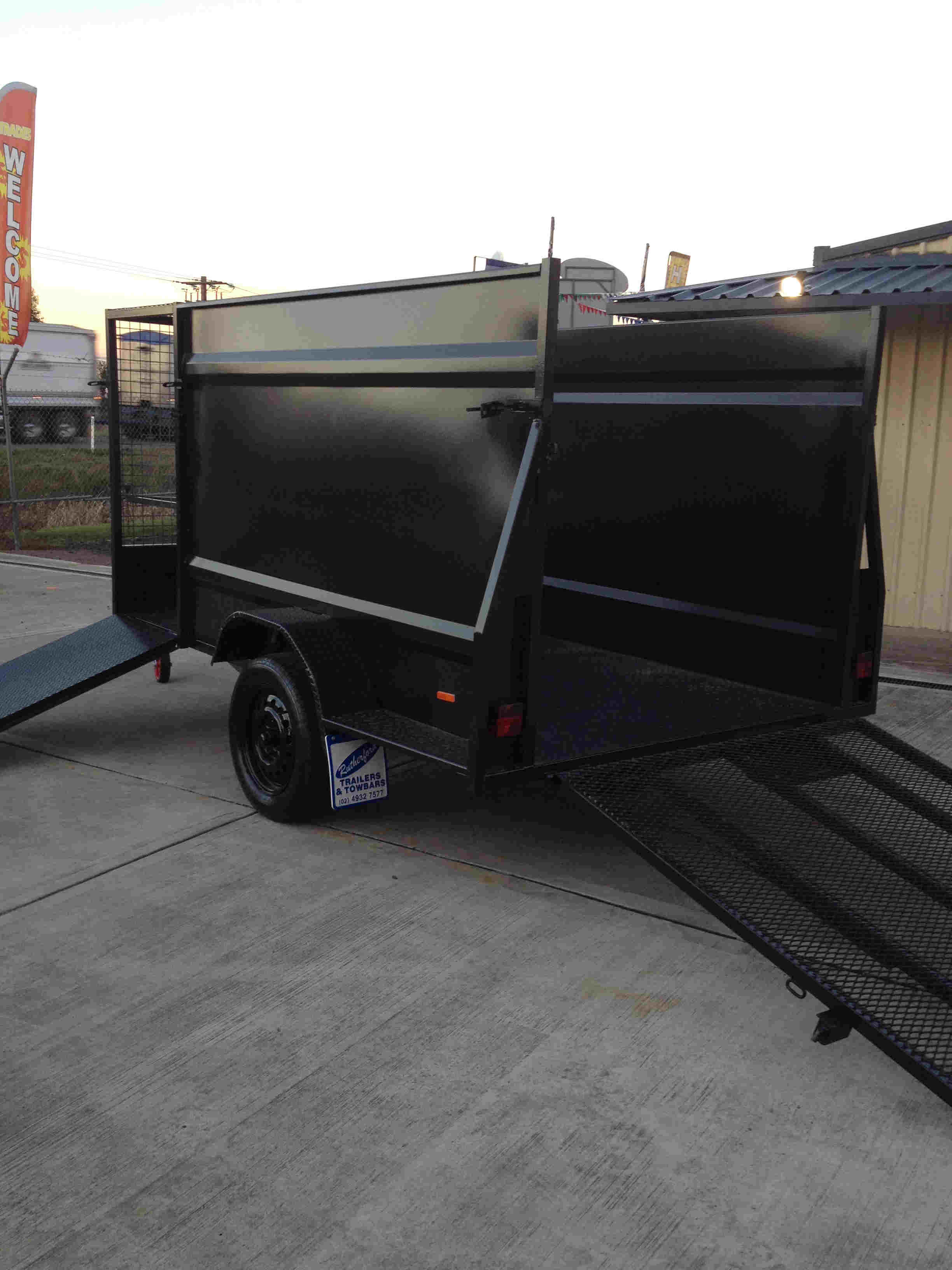 custom landscape trailer