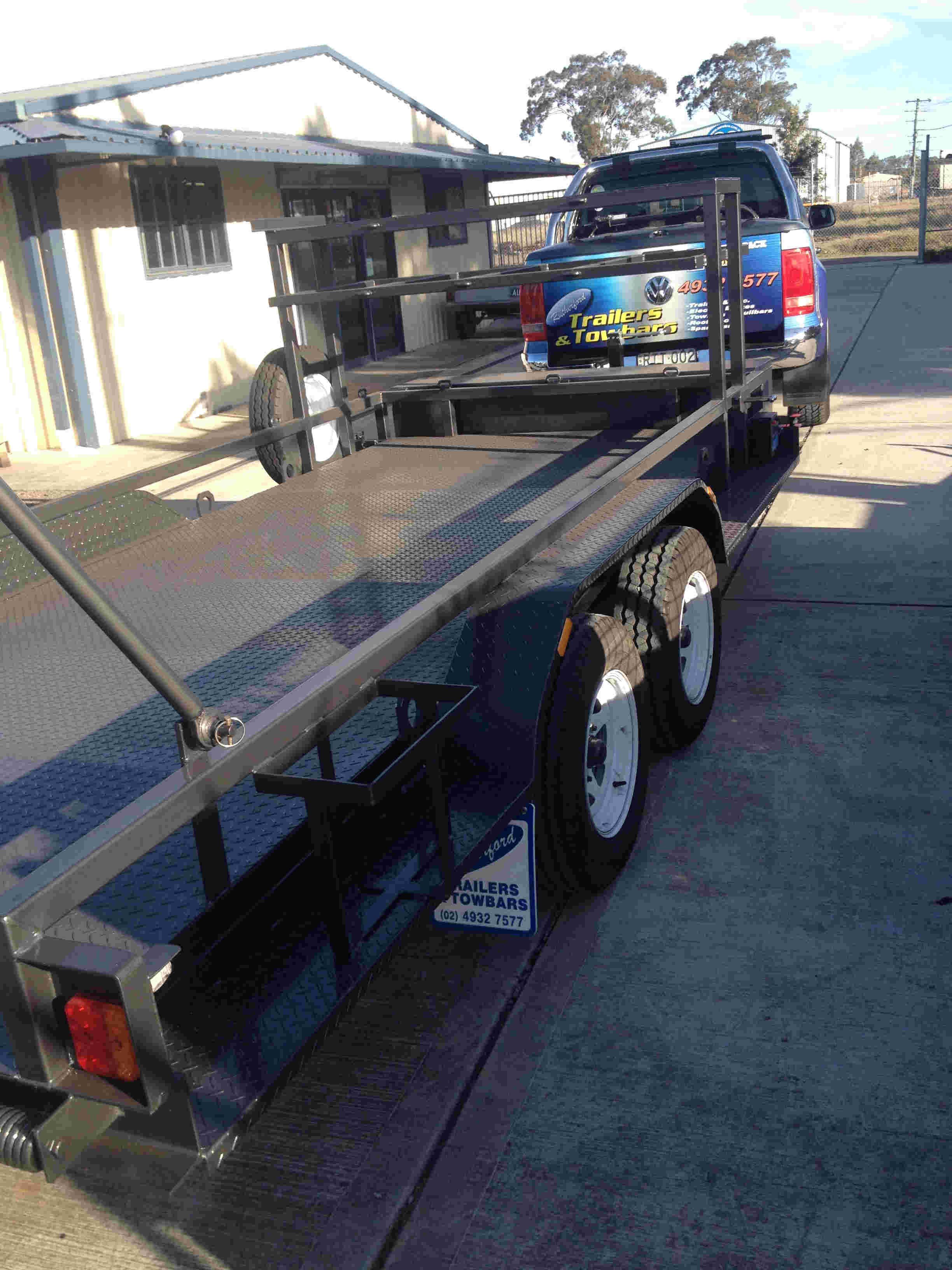 custom plant trailer