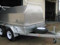 checker plate builders trailer