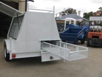 tradesman trailer custom
