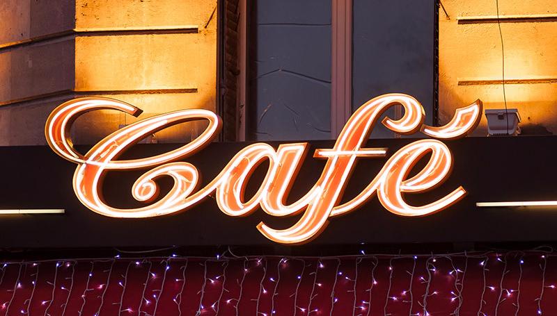 Illuminated signage designed by experts