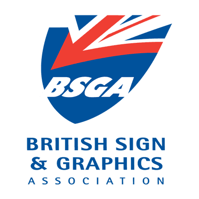 members of British sign & graphics association logo