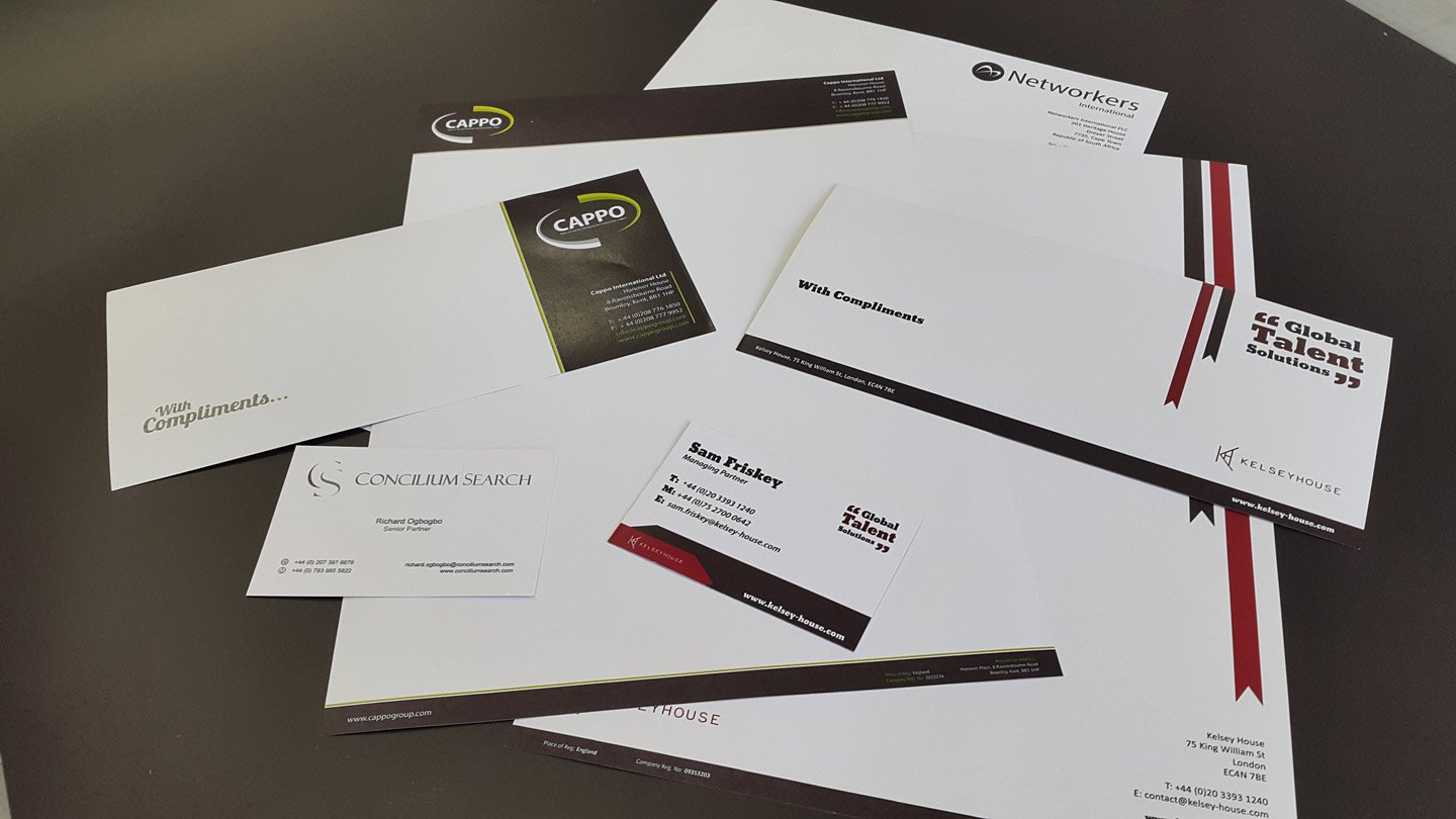 Creative business cards designed by experts