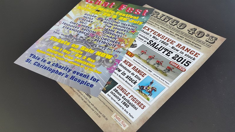 Attractive business leaflets design by expert