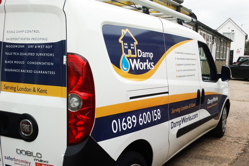 Designed and Installed vehicle graphics for customer