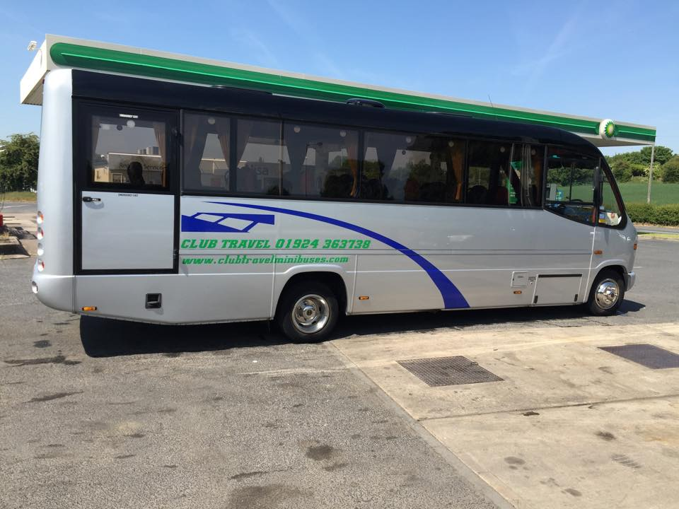 spacious minibus for hire
