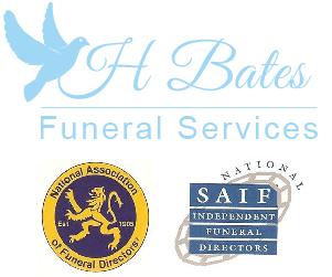 H Bates Funeral Services logo