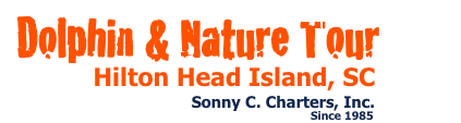 Hilton Head Island dolphin tours, dolphin cruises, sunset fireworks cruises, and wild dolphin encounters by Sonny C Charters. Enjoy Hilton Head's preferred dolphin adventure day cruise experience.