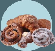 croissant, bar, caffetteria