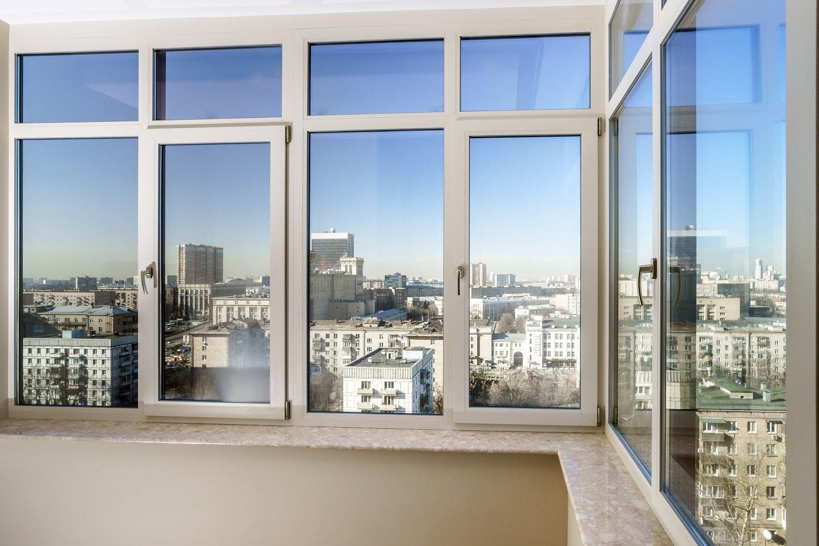 delle finestre angolari
