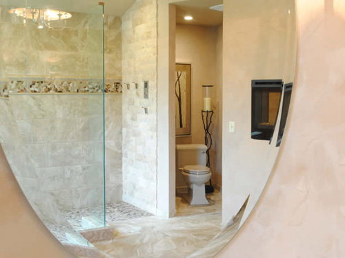 Bathrooms with a flair by Nelson Designs