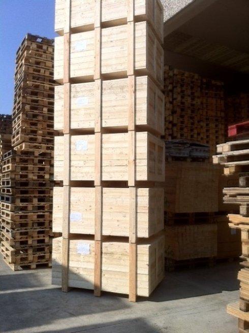 casse per imballaggio in legno