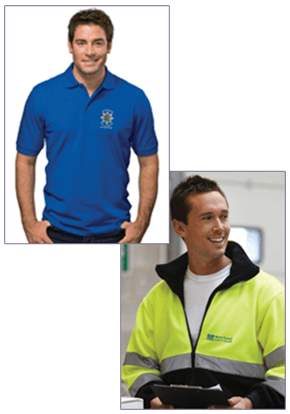 Embroidered polo shirts - Stourbridge, West Midlands - Alfabet Screen Printing Ltd - Man in Sports Shirt