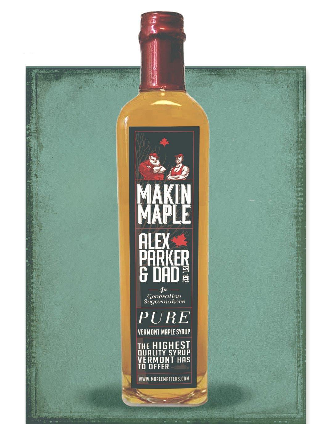 500ml Grade A VT Maple Syrup