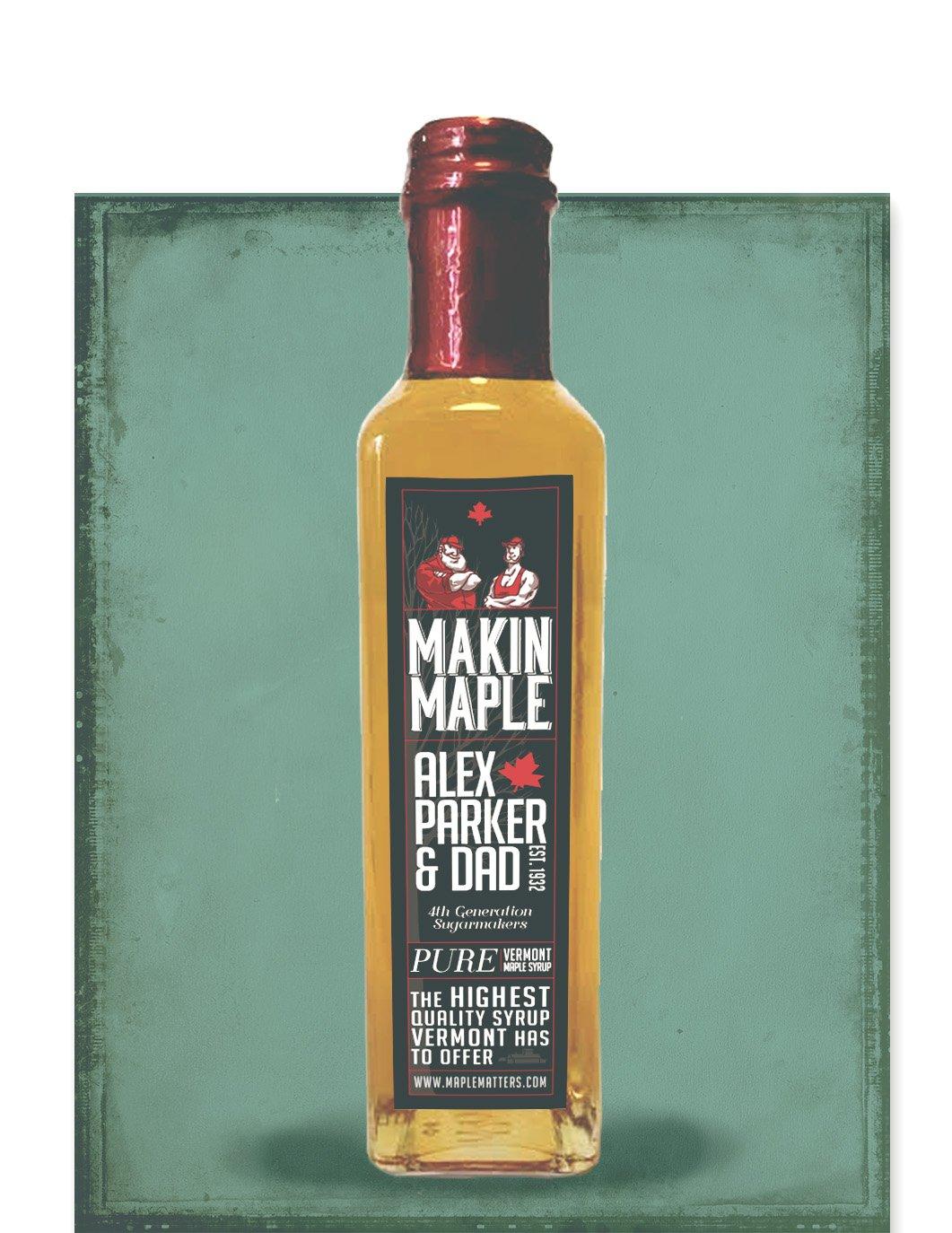 250ml Grade A VT Maple Syrup