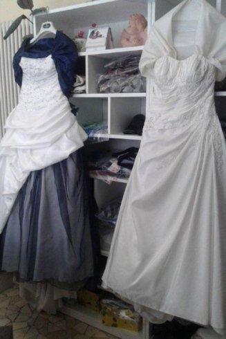 Lavaggio abiti da sposa e da cerimonia