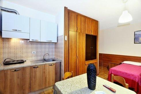 Residence Hotel Sogno a Novara - Particolare camera adibita a residence