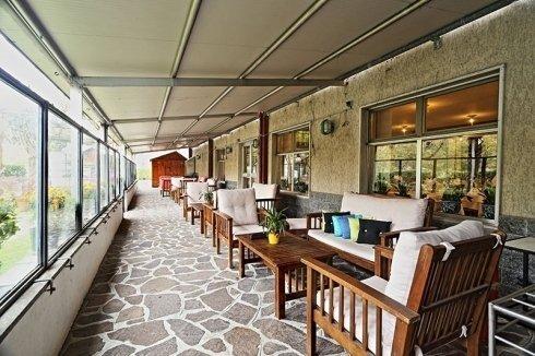 Hotel Residence Sogno a Novara - La veranda