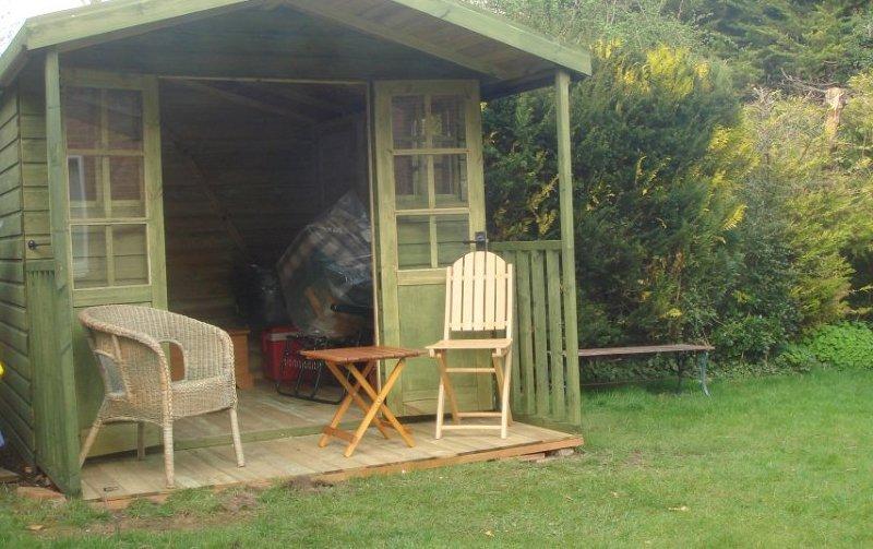 sturdy garden house