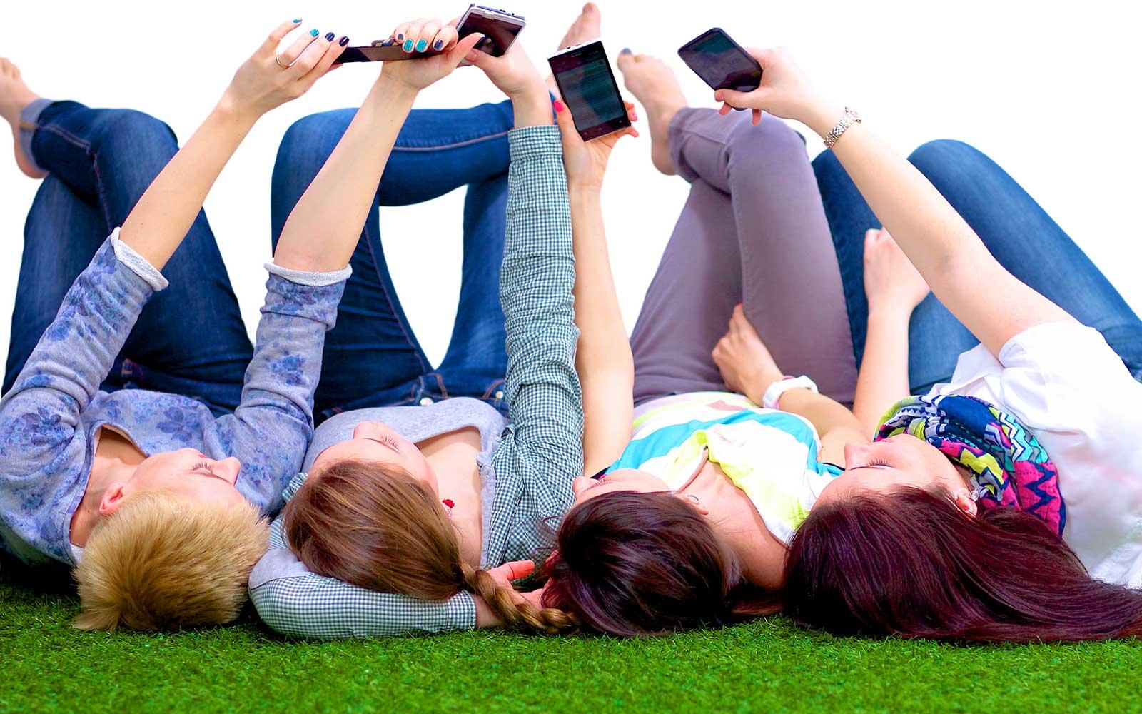 Prendendo foto con il cellulare
