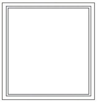 pavimenti con cornice quadrata