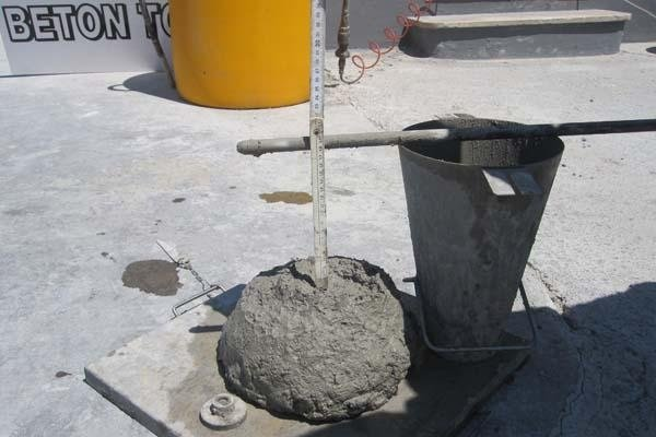 Misurazione calcestruzzo