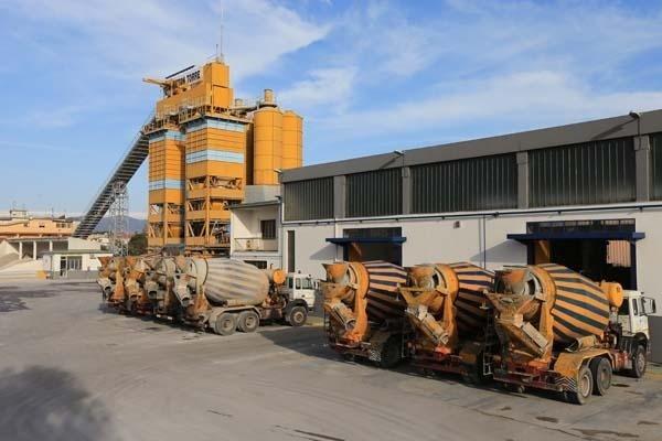 Impianto di betonaggio
