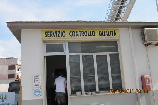 Servizio controllo qualità
