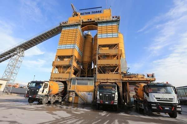 Impianto di betonaggio a torre