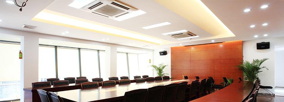 Ufficio con aria condizionata